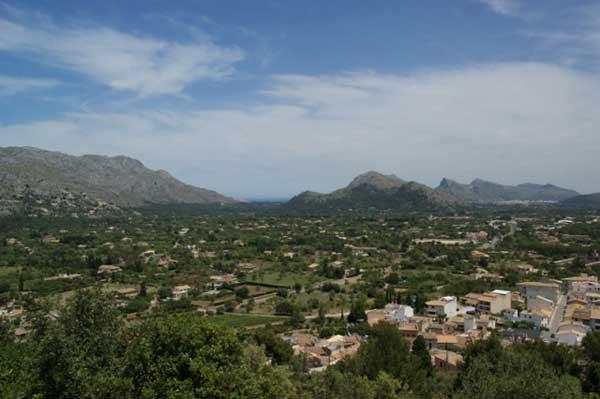 Blick auf das Tramuntanagebirge